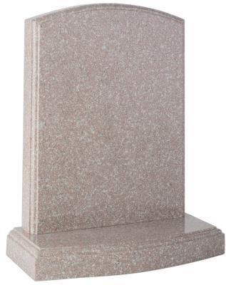 16024 - The addition of moulded edges on the headstone and base create a classic looking headstone.