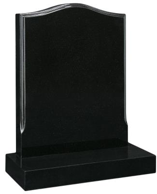 16025 - A stop-moulded edge creates a stylish look to the headstone.