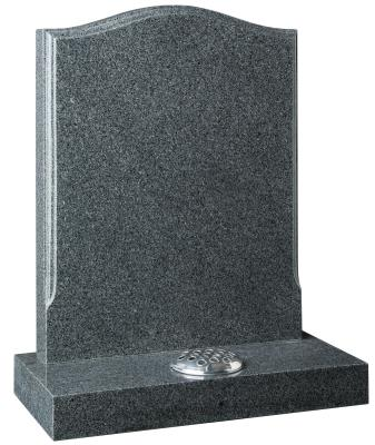 16026 - A stop-moulded edge creates a stylish look to the headstone.